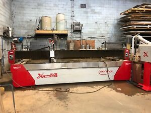2017 Semyx Optima 420 5 axis Cnc Waterjet Cutting Ref 7794089