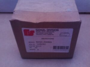 Federal Signal 50gc 120bg Selectone Speaker Amplifier New Fs