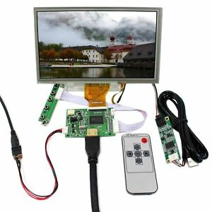 Hdmi Lcd Controller Board 8 800x480 At080tn64 Resistive Touch Lcd Screen