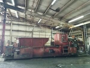 Aljon Al jon 550 High Compression Baler Bailer Scrap Metal Recycling