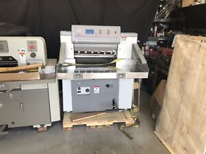 Polar Model 66 Programmable Paper Cutter Super Nice 2006 Yr
