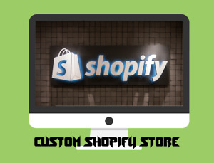 Custom Shopify Dropshipping Store website Ready In 1 2 Days