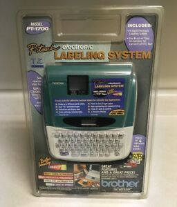 Brother P touch Pt 1700 Label Printer electronic Labeling System Maker