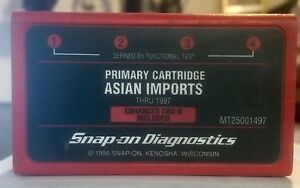 Snap On Diagnostics Asian Imports Primary Cartridge Mt25001497