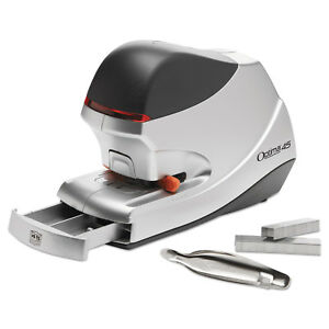 Swingline Optima 45 Electric Stapler 45 sheet Capacity Silver 48209