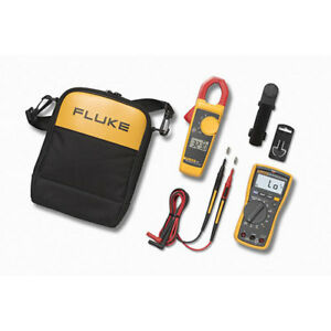 Fluke 117 323 Electricians Multimeter And Clamp Meter Combo Kit