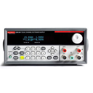 Keithley 2220g 30 1 Dual output Programmable Dc Power Supply W usb