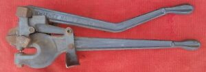 Free Shipping Whitney Hand Punch No 2 W Cutting Blade Stand Sheet Metal