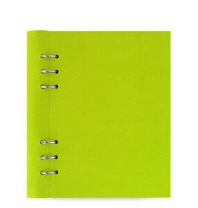 Filofax A5 Clipbook Leather look Refillable Notebook Diary Pear Organiser 023616