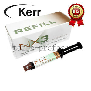 Nx3 Dual Cure Dental Adhesive Cement Clear By Kerr Tips