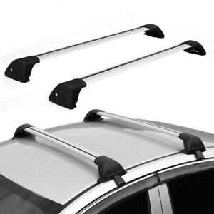 Universal 48 Car Top Roof Rack Cross Bars Luggage Carrier Aluminum W Lock
