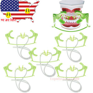 5pcs Oral Dry Field System Lip Cheek Open Retractor For Orthodontic Treatment
