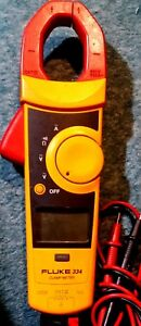 Fluke 334 Clamp Meter With Leads