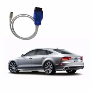 Vag Com Vcds Cable Usb Scanner Tool Obd 2 Ftdi 409 1 For Vw Audi Free Shipping