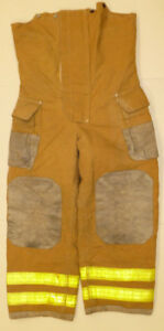 32x31 Pants Firefighter Turnout Bunker Fire Gear W Liner Fx Repel P804