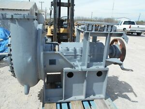 8x10 Metso thomas Slurry Pump And Goodyear Pd Drive