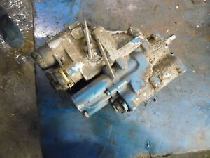 1986 Ford Tw 35 Series 2 Farm Tractor Dual Hydraulic Outlet Coupler Block