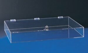 Acrylic Countertop Display Case 24 X 18 X 3 Locking Security Show Case 1464