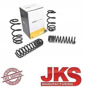 Jks Jspec 3 Front Rear Coil Spring Kit For 97 06 Jeep Wrangler Tj Lj 3300