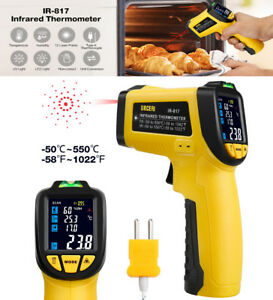 Infrared Thermometer Ir Laser Temperature Gun Non contact 50 550 Cooking Body