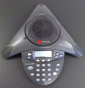 Polycom Soundstation 2w 2201 67800 160 1 9ghz Wireless Analog Conference Phone
