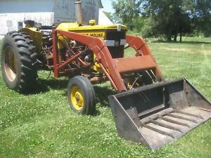Used New Idea Model 506 Loader loader Only With Brackets For Mm M5 M602 Tractor