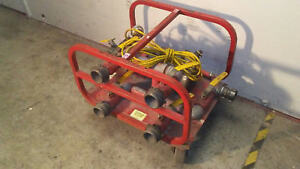 Rice Hydro Electric 1 Hp Fire Hose Testing Hydrostatic Pump Untested