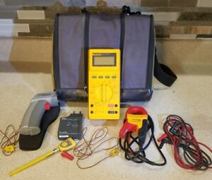 Lot Fluke 27 Multimeter 80tk Flukee I400 Ac Current Clamp Raytek Minitemp