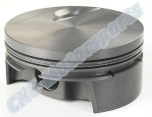 Bb Chevy 505 Stroker Mahle Flat Top Pistons 4 250 X 6 385 X 4 350 Bbc270350f03