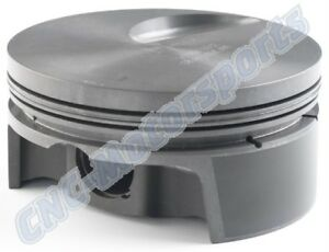 Bb Ford 460 557 Stroker Mahle Flat Top Pistons 4 500 X 6 700 X4 440 Bbf350440f03