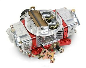 Holley 0 76750rd 750cfm Ultra Double Pumper Carburetor Red Billet