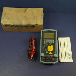 Yokogawa Ca12e Handy Cal Temperature Calibrator Good Condition Box