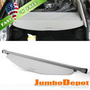 Us Gray Trunk Retractable Cargo Cover Oe Style Fit Nissan Rogue X trail 14 17