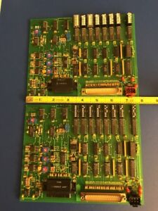 Matrix Pcb Brooks Automation Component Side Orbitran Rev C 0999 and B sn 0788
