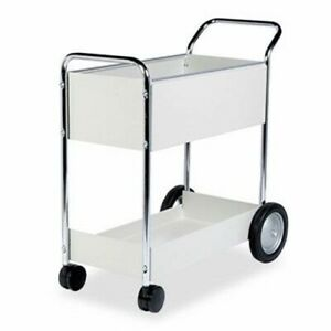 Fellowes Steel Mail Cart 150 folder Capacity 20w X 40 1 2d X 39h fel40922
