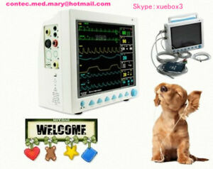Veterinary Icu Vital Signs Patient Monitor 6 Parameters contec Cms8000vet us Hot