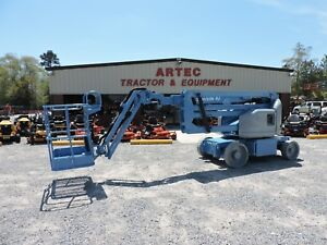 2008 Genie Z40 23n Rj Articulating Boom Lift Jlg Low Hours Good Condition
