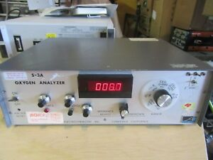 Ametek Aei Oxygen Analyzer Sensor S 3a 1 Applied Electrochemistry Inc