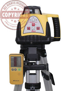 Leica Rugby 100lr Self Leveling Rotary Laser Level Trimble Spectra Topcon