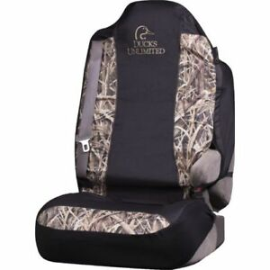 Ducks Unlimited Mossy Oak Camo Universal Seat Cover Dsc4508