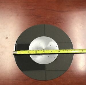 Wafer Carrier 8 Inch Si Wafer With 4 Inch Pocket With 1 5mm Holes