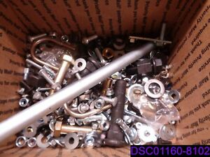 40 Lbs Mixed Lot Of Bolts Nuts Washers Lock Washers Many Types And Styles