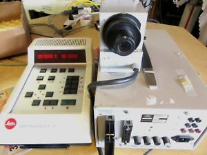 Photomicroscope Components Leitz Camera Controller Orthomat E Zeiss Power Supply
