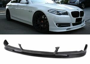For 10 13 Bmw F10 5 series Euro Style Pu Front Bumper Lip Poly Urethane Body Kit