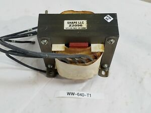 Shape Electronics Llc Z2096 Transformer Used Z2096a 5 Wire Used