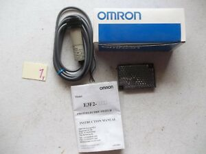 New In Box Omron Photoelectric Switch Sensor E3f2 r2c4 2m 233 1