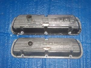 Cobra Closed Letter shelby Gt 350 Valve Covers For The 67 70 Production Years