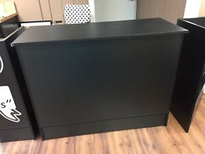 Black Cash Wrap Counter ohio Pick Up Only