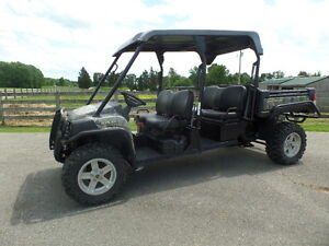 John Deere 825 S4 Double Seat Gator 2013 W 137 Hrs Exc Cond