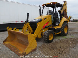 2014 Caterpillar 416f Backhoe Wheel Loader Tractor Q c Hoe Excavator Bidadoo